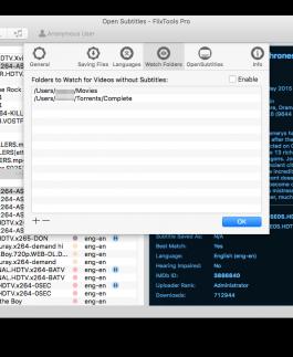 Open Subtitles FlixTools - The easiest way to download